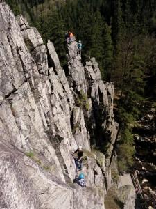 Klettern am Katzenstein