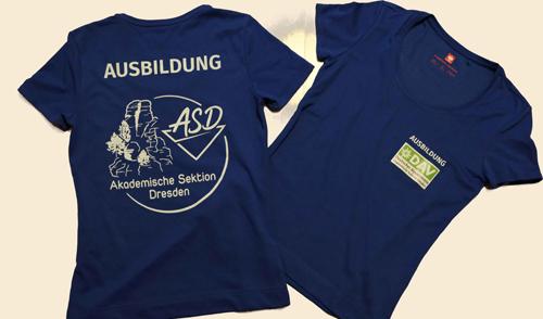 Artikelbild zu Artikel Neue T-Shirts für ÜbungsleiterInnen